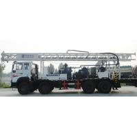 China 600M 6X4 Truck mounted hydraulic water well borehole drilling rig for mud drilling and air compressor on sale