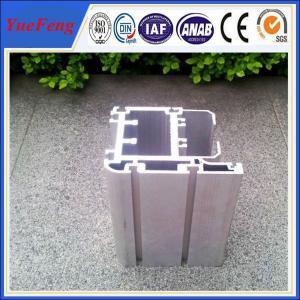 customized OEM aluminium alloy construction company profile, hollow aluminium extrusion Manufactures