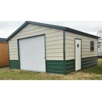Small Warehouse Steel Structure With Rolling Door And Single Door Manufactures