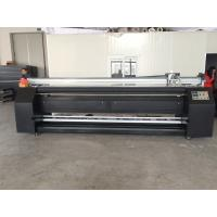 Large Format Fabric Plotter With Heater For Outdoor Mirror Flag Making Manufactures