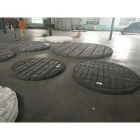China Gas Liquid Filter Stainless Steel Knitted Wire Mesh Demister Pads Flat / Corrugated on sale