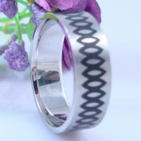 China 2013 Fashion Eternity Band Ring Jewelry Engraved 316L Surgical Stainless Steel Infinity Ring on sale