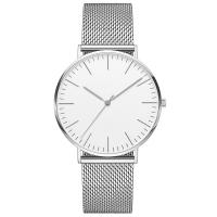 3 ATM Water Resistant Silver Stainless Steel Watch 316l 40mm Diameter Watch Case Manufactures
