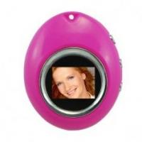 China Egg shape mini digital photo frame battery rechargeable  USB port  with Calendar set on sale