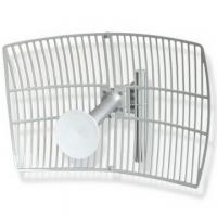 5150-5850MHz 5G Grid Parabolic Antenna With 24DBI High Gain Manufactures