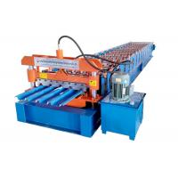 IBR Steel Profile Roll Forming Machine Size 6500*1500*1500 Mm Speed 10-15 M/Min Manufactures