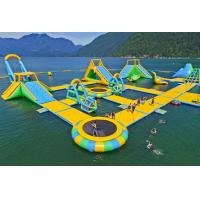 Giant Inflatable Water Park Games /  Harrison Exciting Aqua Park Equipment For Adults or Kids Manufactures