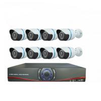 China HD CMOS 1000TVL H.264 8ch AHD DVR CCTV Camera Kit 8 Waterproof Indoor Bullet camera on sale