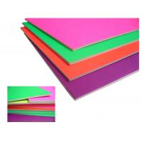 Waterproof 5mm High Density Foam Board , Colored Interior Ceiling Foam Board Manufactures