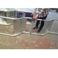 Block Dung Board For Milking Parlor Equipment Frame 3mm Hot Galvanized Steel Manufactures
