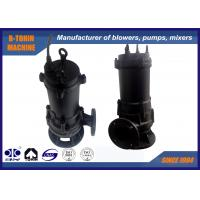 7.5KW Submersible wastewater pumps for fish pond , farm irrigation Manufactures