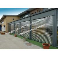 Commercial Shop Front Polycarbonate Transparent Slat Shutter Door Aluminum Roll Up Security Doors Manufactures