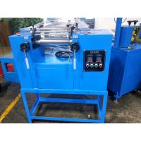 76mm ( 3 Inch )Diameter Two Roll Mill , Lab Mixing Open Mill For Plastic & Rubber Manufactures
