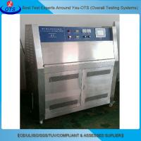UVA Lamp Accelerated UV Weathering Test Chamber Overload Short Circuit Protection Manufactures