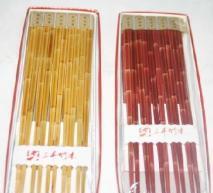 Supply Bamboo-shaped bamboo chopsticks Manufactures