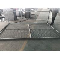 Buy cheap 6x14' Chain Link Fence Panels for Construction Tube 1⅗