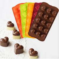 China Commercial Baby Silicone Chocolate Molds , Professional Chocolate Molds Food Grade for sale