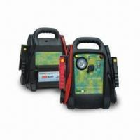 Car Jump Starters with 12V/12Ah Internal Battery, 750A Peak Power and 3W Emergency Light Manufactures