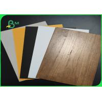 China 100% Post - Consumer Wastepaper 1.2mm 1.5mm Grey Board For Gift Boxes on sale