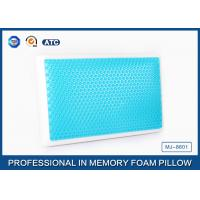 Standard size memory foam cooling gel pillow with different gel layer Manufactures
