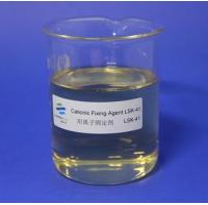 China Light Yellow Viscous Liquid Cationic Fixing Agent Pape Machine Runnability Improving on sale