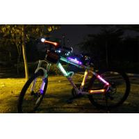 Warning Safety Racing Bicycle LED Lights Side With Visible Over 400 Meter Manufactures