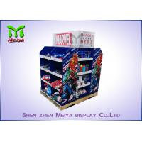4 Layers Corrugated Cardboard Pallet Display Standing Big Size And Capacity Manufactures