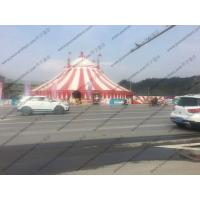 PVC Pagoda Canopy Red And White Roof Cover High Peak For Outdoor Event Trade Show Manufactures