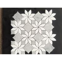 water jet marble mosaic tiles supplier in China Manufactures