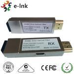 10GHz 4K x 2K 30fps Mini Hdmi Over Fiber Optic Extender Converter up to 300m Manufactures