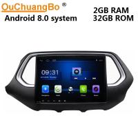 China Ouchuangbo car kit audio gps stereo android 8.0 stereo for GAC Trumpchi GS4 support wifi USB reverse camera on sale