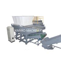 Nylon Wire Single Shaft Shredder Machine With CNC Processing Rotor / PLC Program Control Manufactures