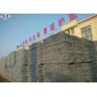 Galvanized Rock Basket Wire Mesh Maccaferri Gabion Stone Cage Corrosion Resistance Manufactures