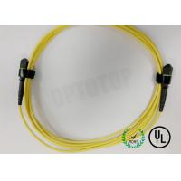 Buy cheap FOCA MPO Fiber Optic Patch Cord SM 8F M - D OFNP TYPE B MPO(F) / APC - TYPE B from wholesalers