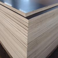 Construction use 18mm phenolic faced plywood black film faced plywood Manufactures