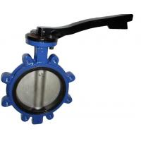 Casting Steel Material Lug Type Concentric Butterfly Valves NPS2-48 Manufactures