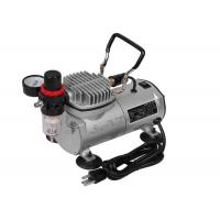 Single Cylinder Piston Mini Air Compresor , Spray Paint Gun With Air Compressor Manufactures
