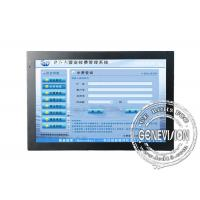 Indoor Touch Screen Digital Signage , 22 Inch Touch LCD Monitor Manufactures