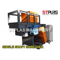 China Single Shaft Shredder Machine For Industrial Hard Material / Die Head / Big Pipes on sale