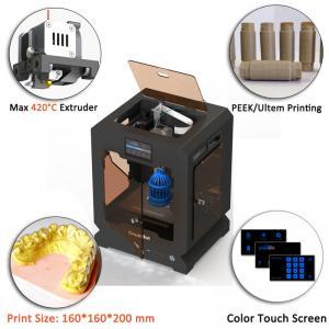 Single Color ULTEM 3D Printer For 3d Model Printing CE Certification Manufactures