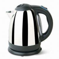 China 1.7L 360° Cordless Electric Kettle with Concealed Heating Element and Double Water Windows on sale