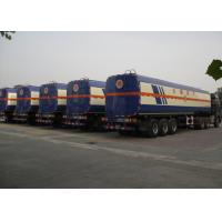 China CIMC tank trailer 50000 liters stainless steel alcohol semi tank trailer 42000 liter fuel tanks for sale on sale