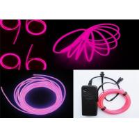 100~150cd.m2 Polar Light 3 Glow EL Wire Purple For Children Placing , Home Manufactures