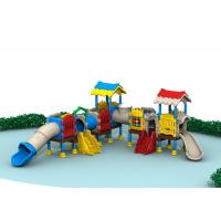 Plastic Outdoor Playground Equipment Outside Play Sets Complete Safety Protection Manufactures