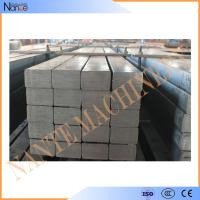 Hot Rolled Leaf Steel Crane Rail Flat With Smooth Surface Treatment And Cutting Manufactures