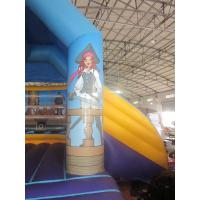 Buy cheap Plato 0.55mm PVC Tarpaulin Bounce House Combo Commercial Grade from wholesalers