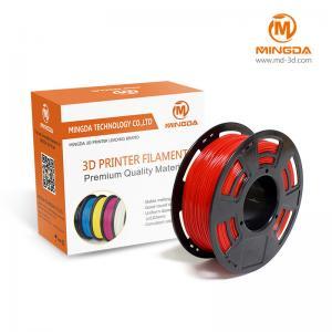 China 1.75 Mm pla filament for 3d printer , desktop 3d printing materials 1kg / roll wholesale