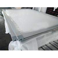 China 2018 Hot and Customized OEM competitive price aluminum snap frame with plastic corner key, China aluminum extrusion on sale