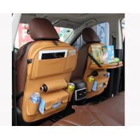 China High Road Passenger Seat Organizer With Tray Leather Type For Car Use on sale