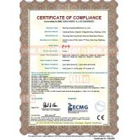 qile inflatable co ltd Certifications